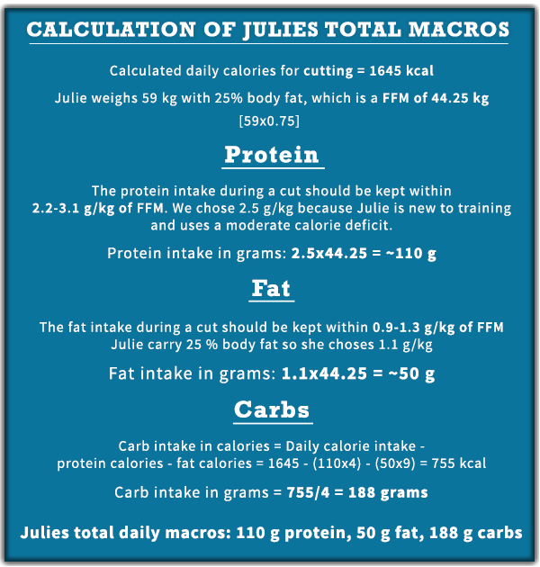Julies total macros example
